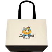 Layin' Back Lakeside Deluxe Tote